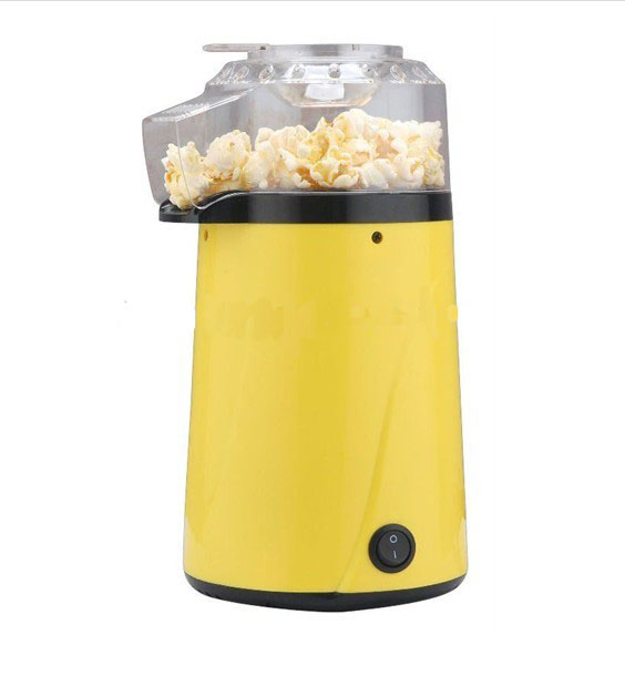 electric fat-free hot air popcorn maker machine
