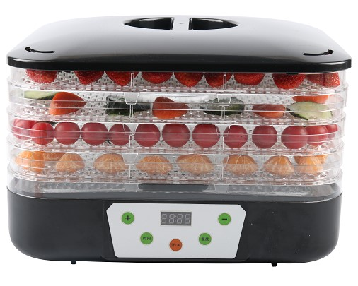 food dehydrator fruit beef dryer 5 tier digital temperature control with timer