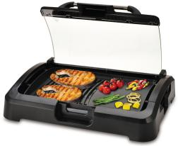 electric detachable press grill withh glass lid